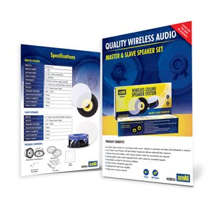 Laceys.tv Aerial Industries HSB826 Wireless Speaker Flyer Thumbnail