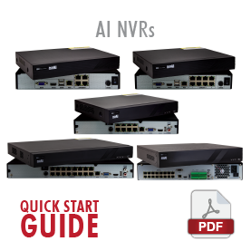 Aerial Industries NVRs Quick Start Guide