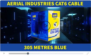 Aerial Industries ALL NEW CAT6 UTP Cable 305 Metres 2020 | Laceys.tv