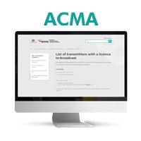 DTV Transmission - ACMA