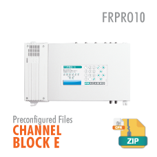FRPRO10 CHANNEL BLOCK E