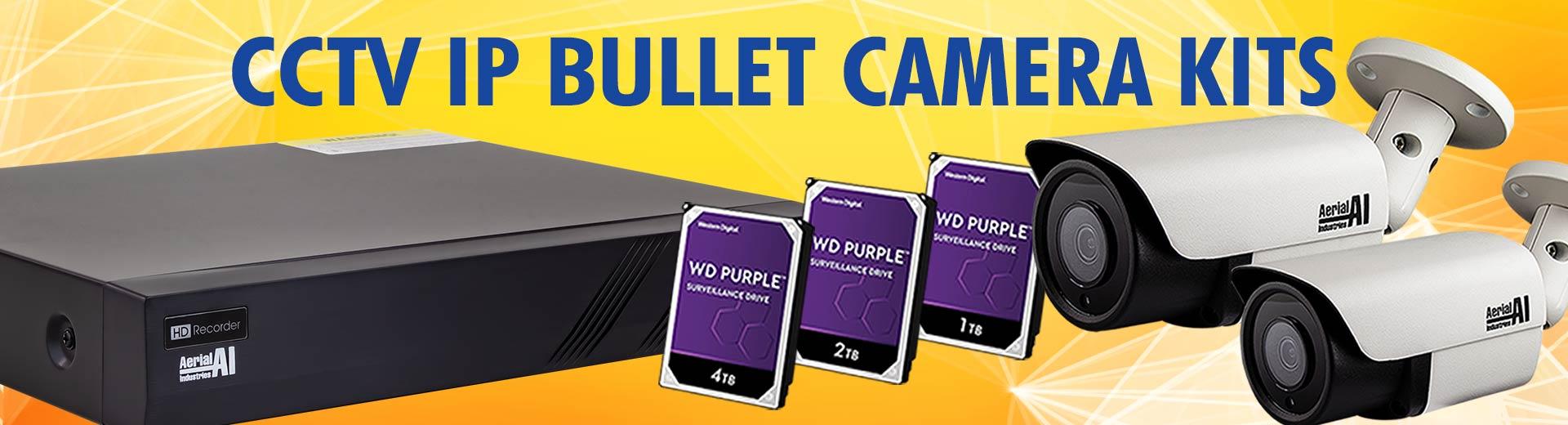 Laceys.tv CCTV IP Bullet Camera Kits Banner Aug21