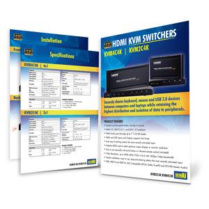 Laceys.tv Flyer Thumbnail for Download KVM2C4K and KVM4C4K