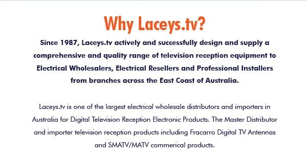 Laceys.tv Business Register 2021