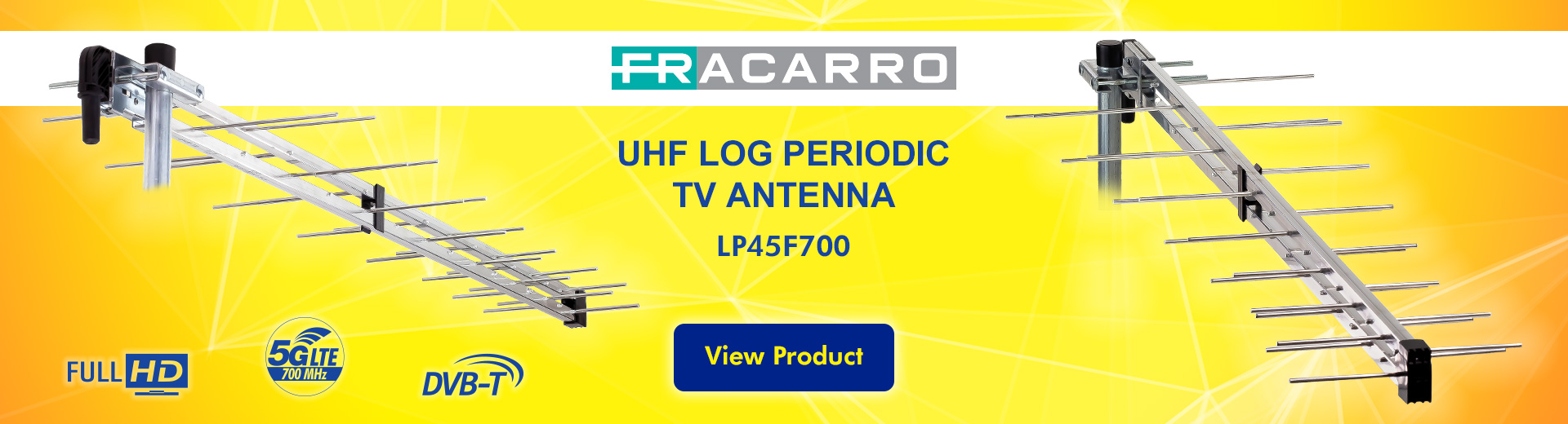 Laceys.tv Log Periodic Antenna LP45F700 Fracarro