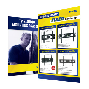 Laceys.tv Flyer Thumbnail for Download TV Mounting Brackets
