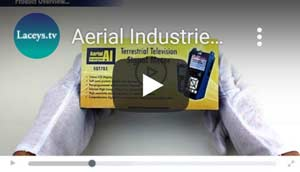 Aerial Industries Signal Meter SQT783 Product Video | Laceys.tv