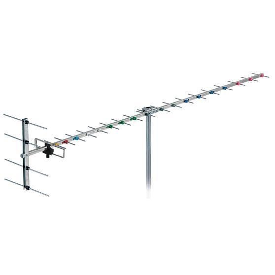 Antenna 20 Element YAGI Channel 28-69 F Type 14.5dB Gain FRACARRO