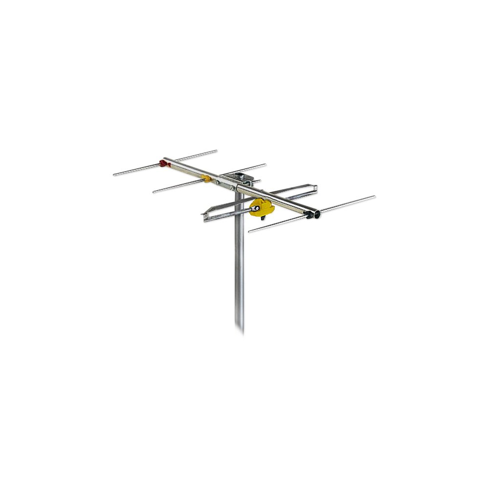 Antenna 4 Element Band 3 VHF YAGI Channel 6-12 F Type FRACARRO