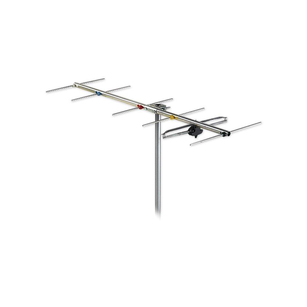 Antenna 6 Element VHF YAGI Band 3 Channel 6-12 F Type FRACARRO