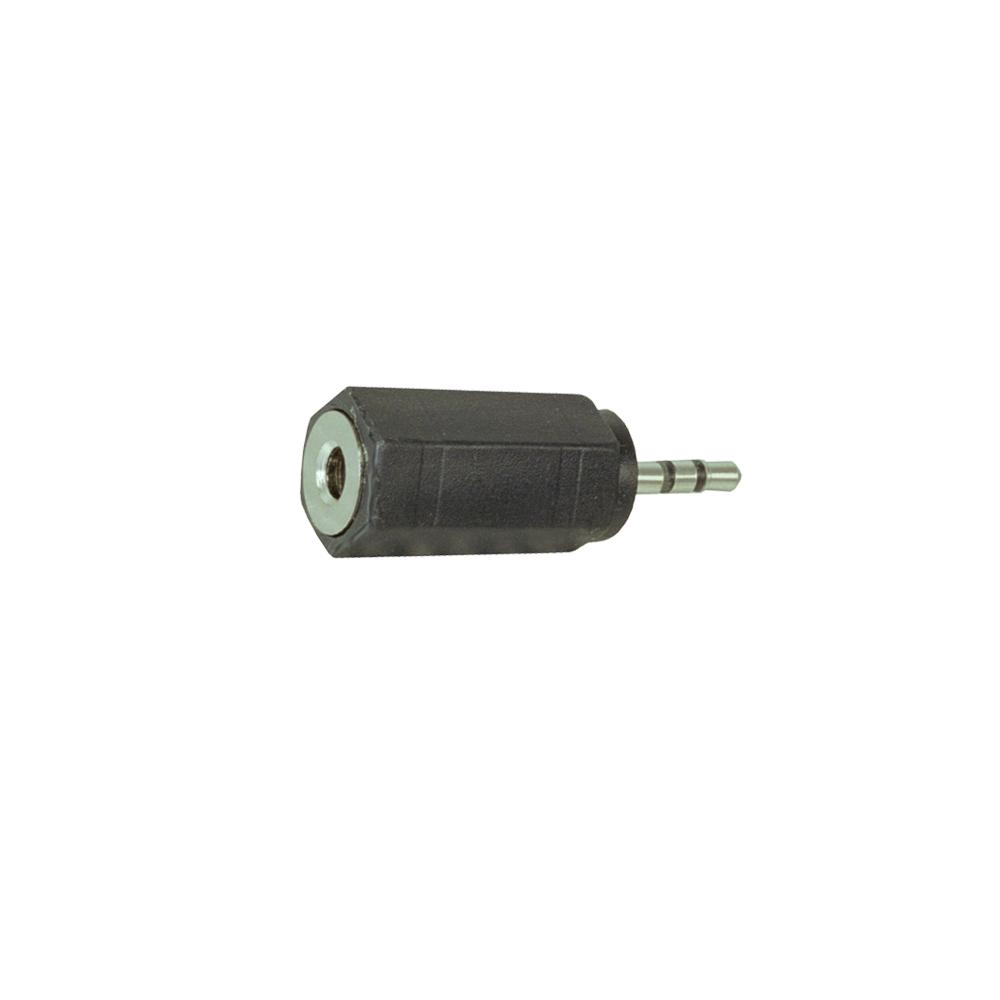 Adapter 2.5mm Male STEREO to 3.5mm Female STEREO