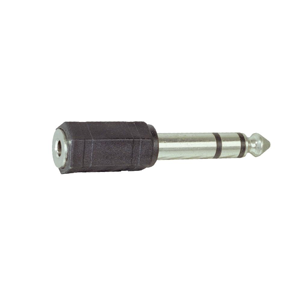 Adapter 6.35mm Male STEREO to 3.5mm Female STEREO