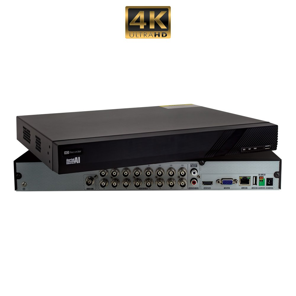 16 Channel 8MP Hybrid DVR