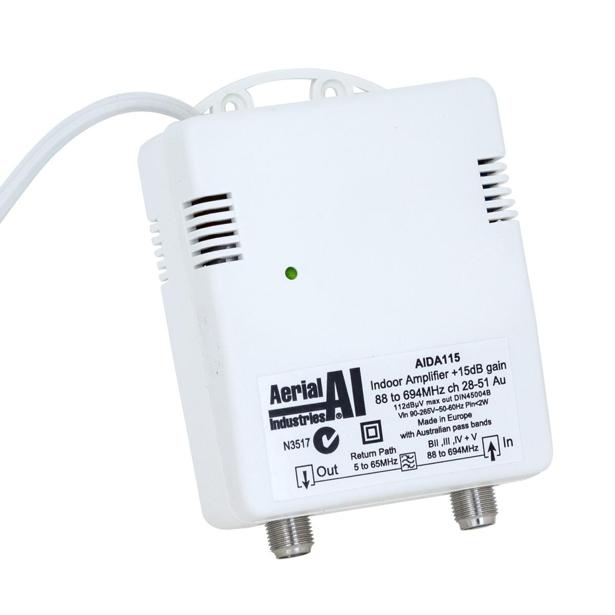 Indoor Amplifier 15dB with Return Path