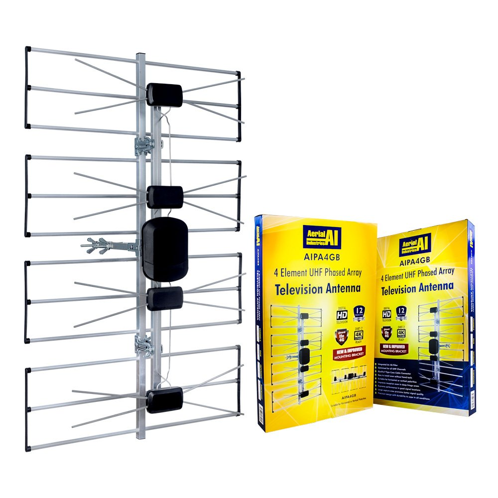 Antenna Phased Array 4 Element AI in Display Carton 4G Filter 1 Per Box