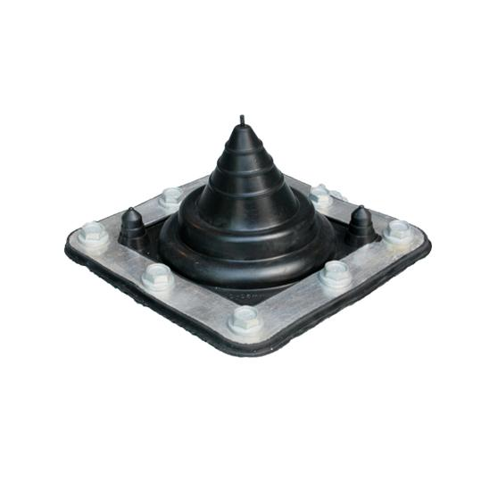 Small Rubber Boot EPDM Flash Rafter Mount up to 35mm OD Pipe