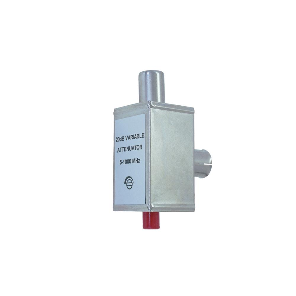 Attenuator Variable PAL M to F Type Mounted Shielded 20dB