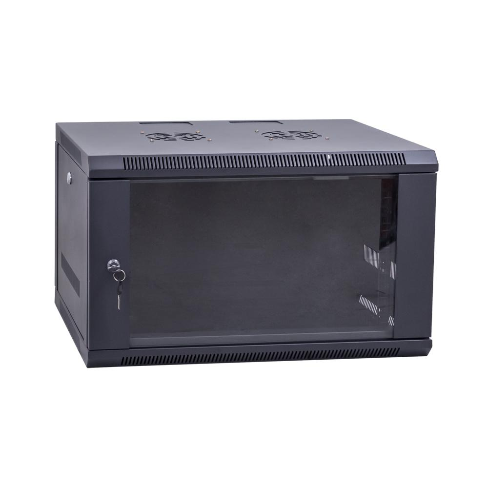Data Wall Cabinet 19 Inch Lockable 6RU x 450mm Deep
