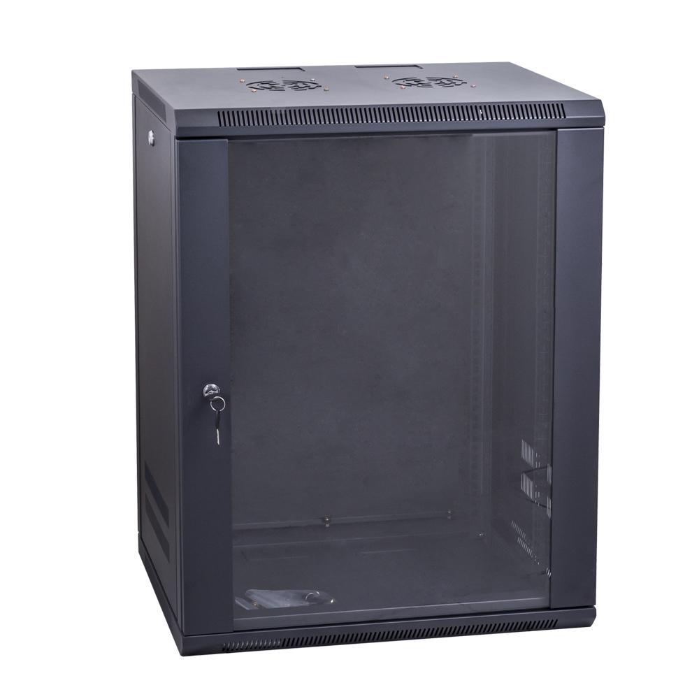 Data Wall Cabinet 19 Inch Lockable 9RU x 450mm Deep