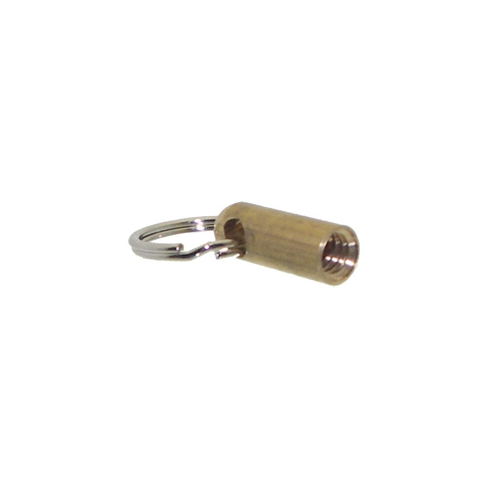 Brass Eye Screws Onto Push Pull Rod CMS-ROD