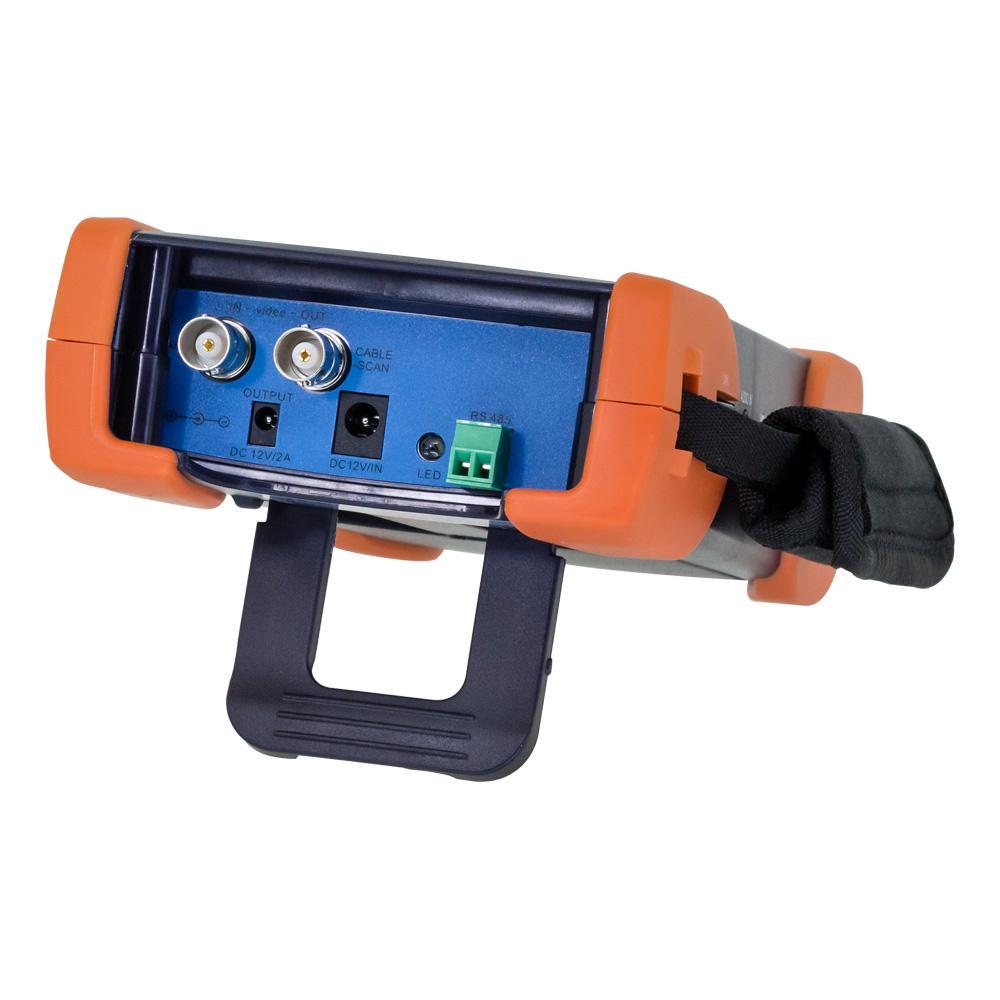 Cctv Tester Ip Ahd Cvi Tvi Analogue H265 Camera 7 Inch