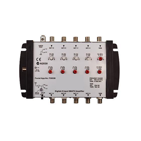 5 Input SMATV Launch Amplifier Foxtel App #F30538