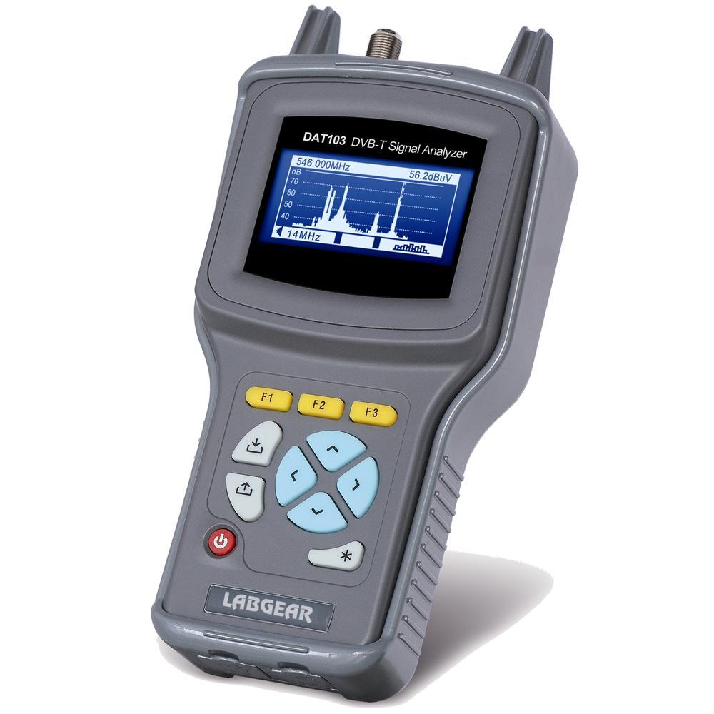 Terrestrial DVB Handheld Meter DC Power meas. Digital TV Signal Analyser