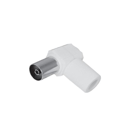 Adapter PAL Female Right Angle Fully Shielded