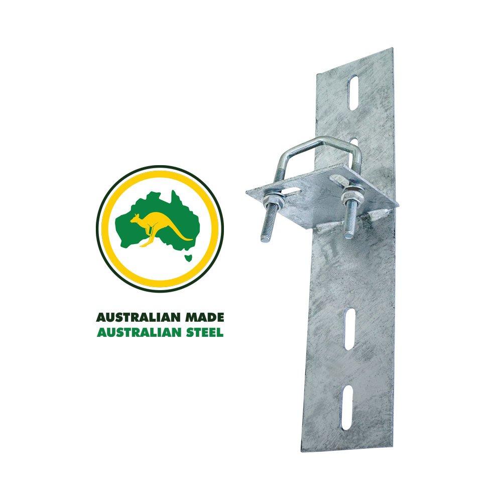 Light Angle Roof Mount with Wide Holes Australian Made Australian Steel