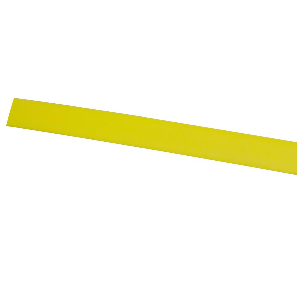Cable Installation Aid Yellow Plastic Strip 3.6m x 15 x 4mm