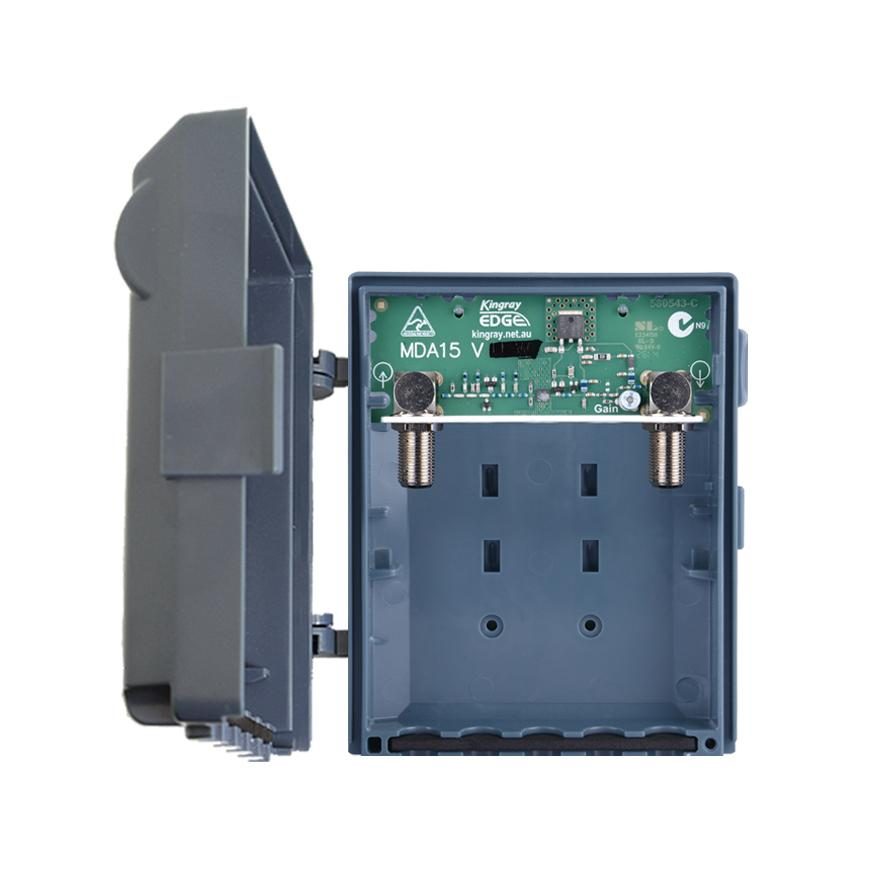 Masthead Distribution Amplifier 1 Input 15dB 174-230MHz Requires PSK06 KINGRAY