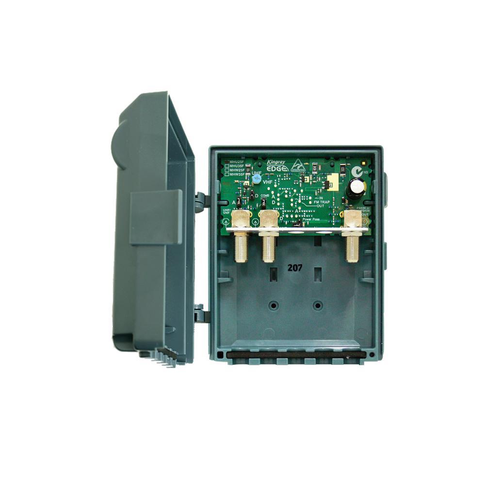 Masthead Amplifier 35dB gain 2 Input UHF Edge Lte
