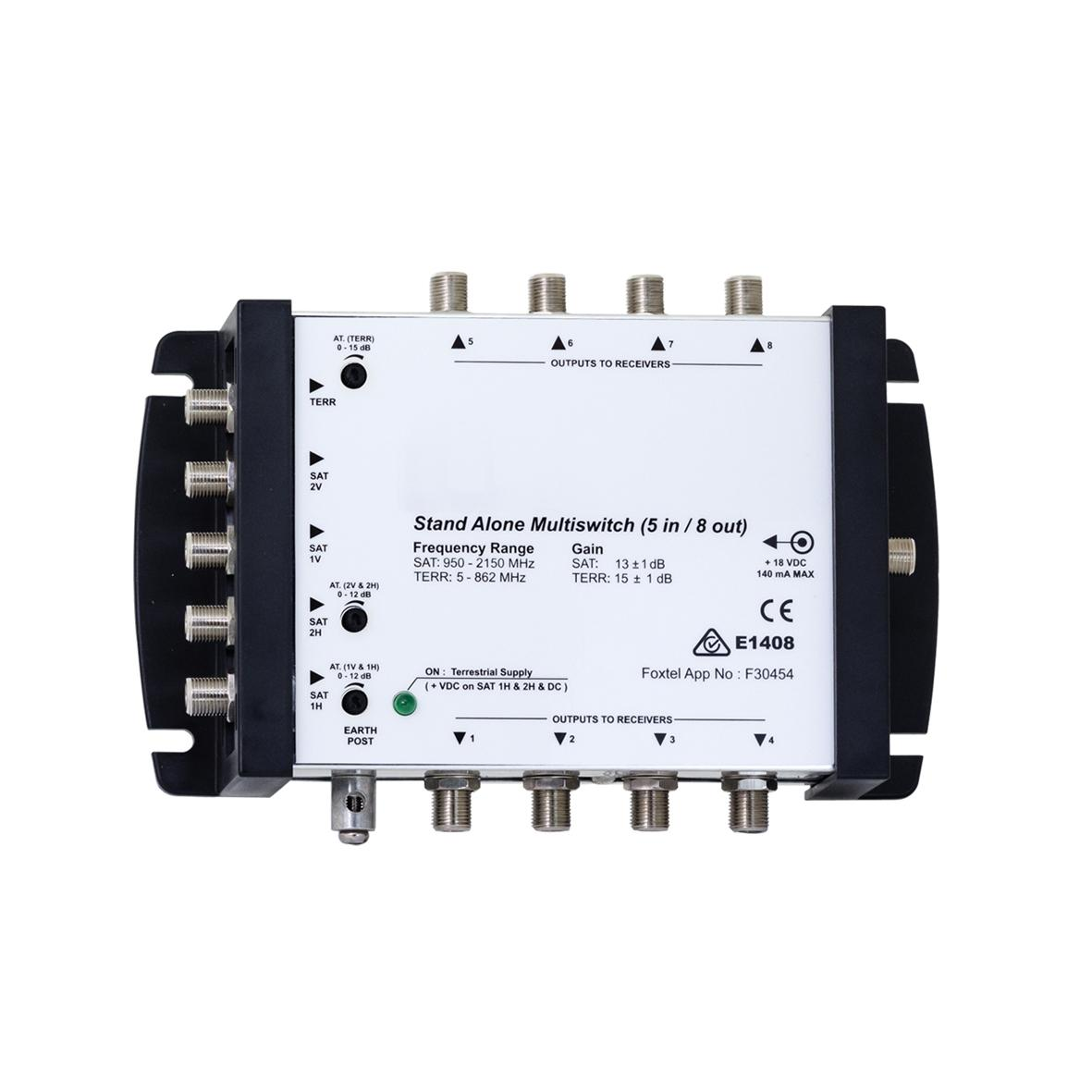 Multiswitch 5 In 8 Out FOXTEL Approved No. F30499