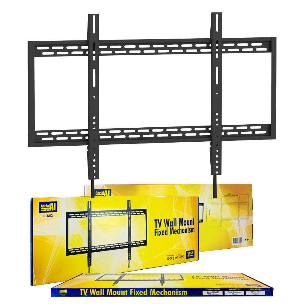TV Wall Mount Bracket FIXED VESA 900x600 60-100 Inch to 100kg