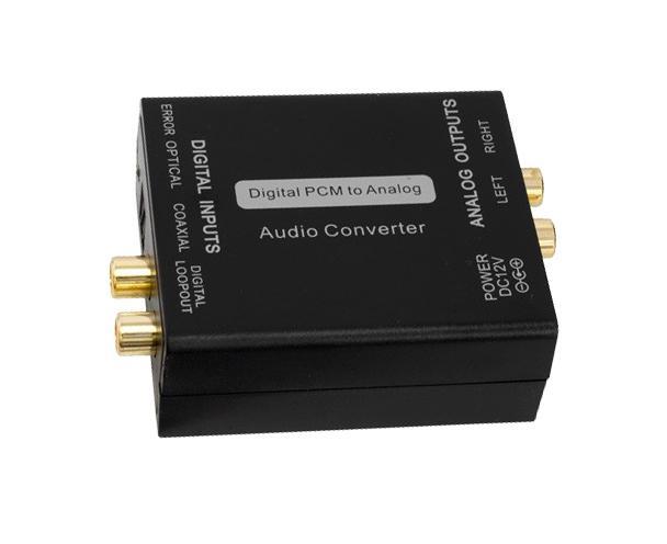 Digital to Analog Stereo Audio Converter