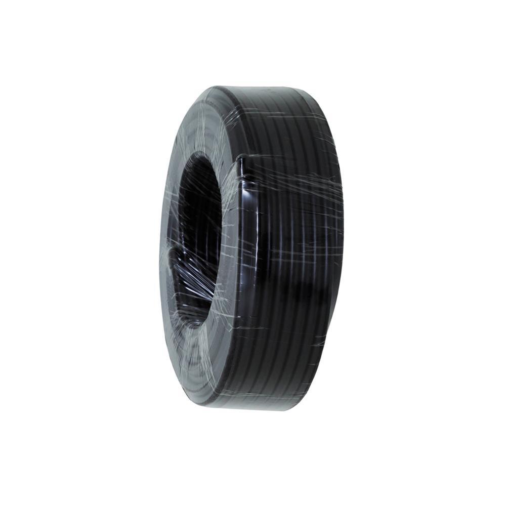 Coax RG59 Dual Shield 30m Roll, Foam Foil & Braid, Black