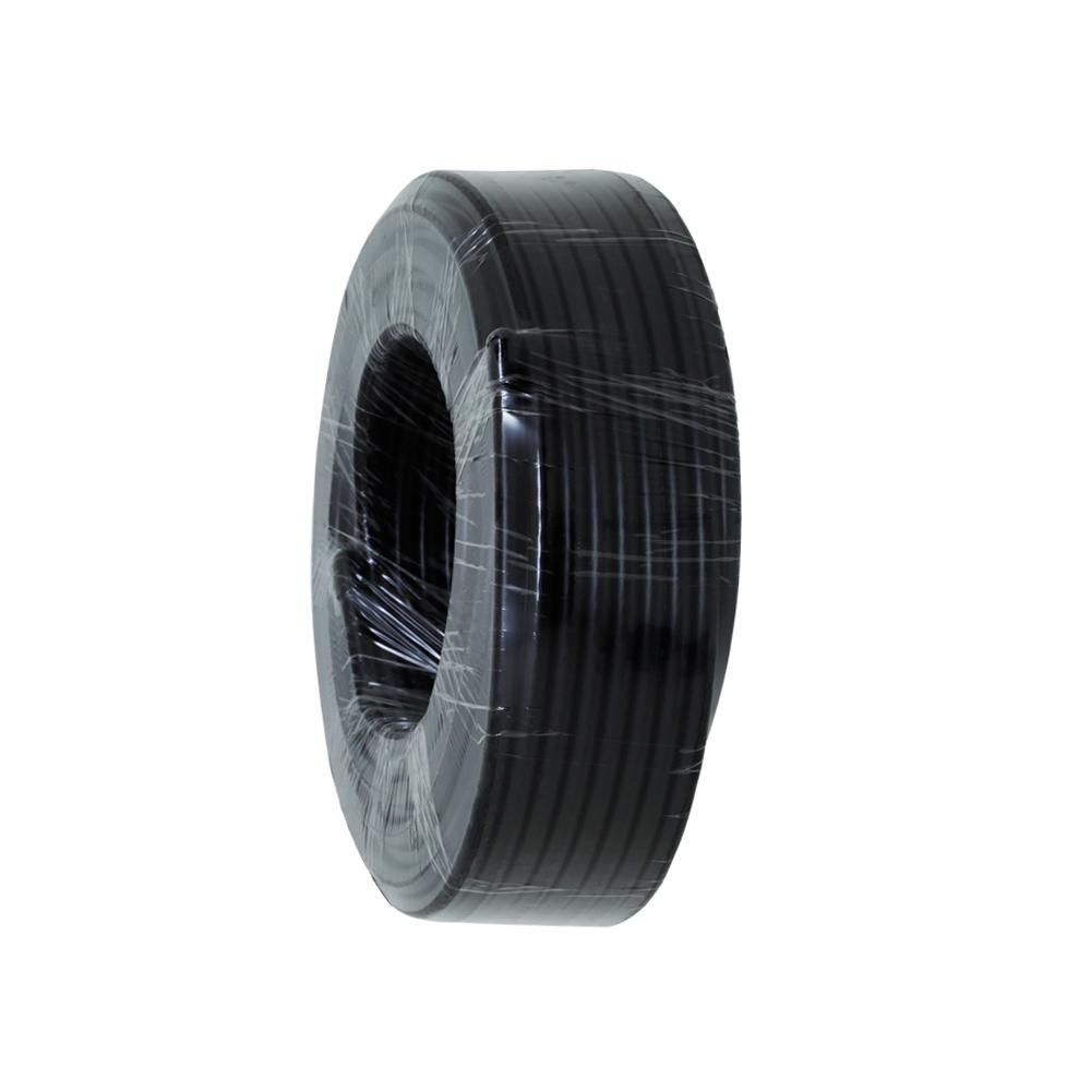 Coax RG6 Quad Shield 30m Roll, Black