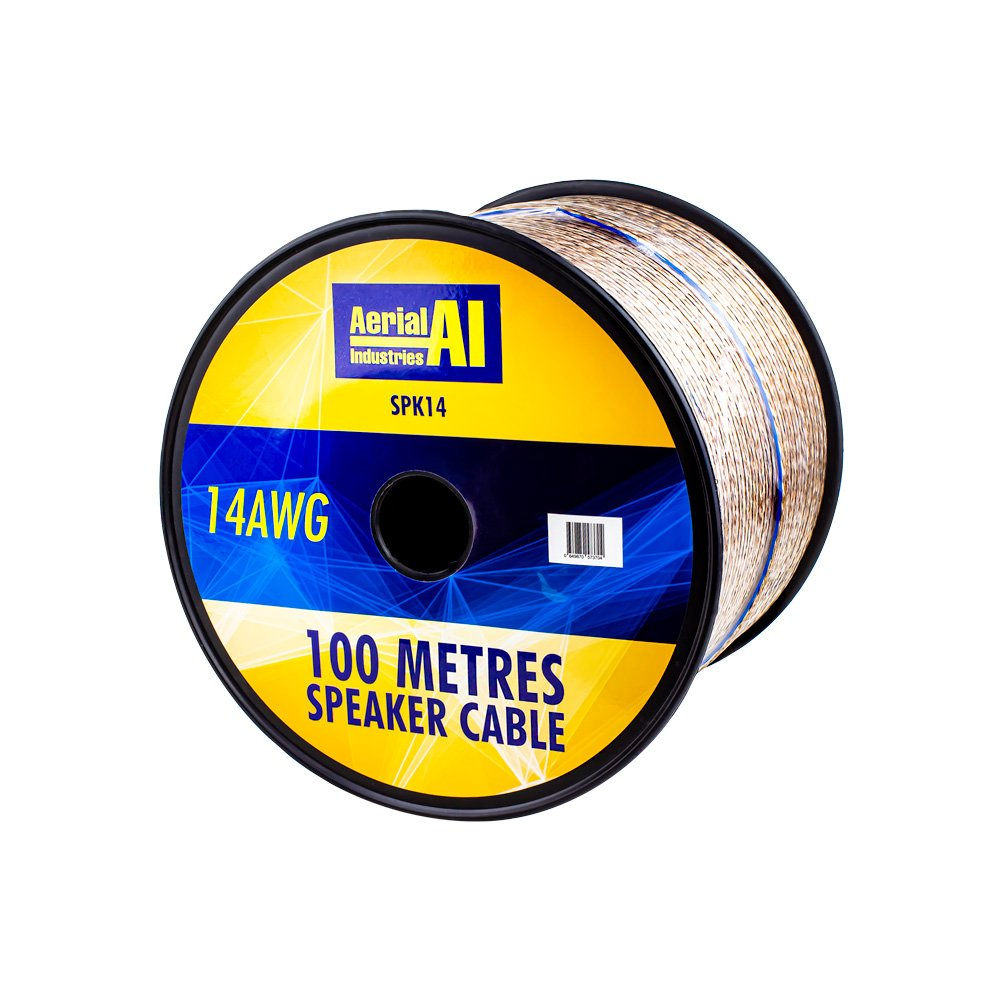 SPEAKER CABLE 14 AWG 100 METRE