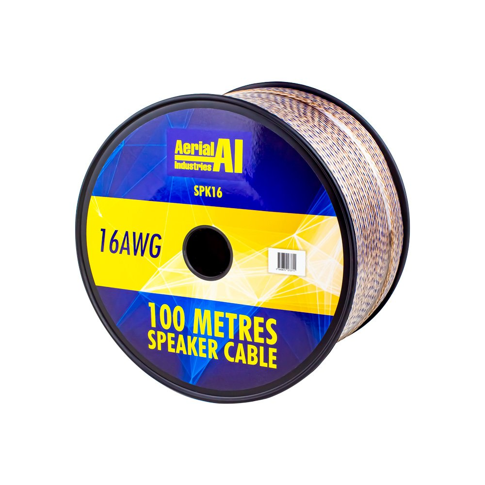 SPEAKER CABLE 16 AWG 100 METRE