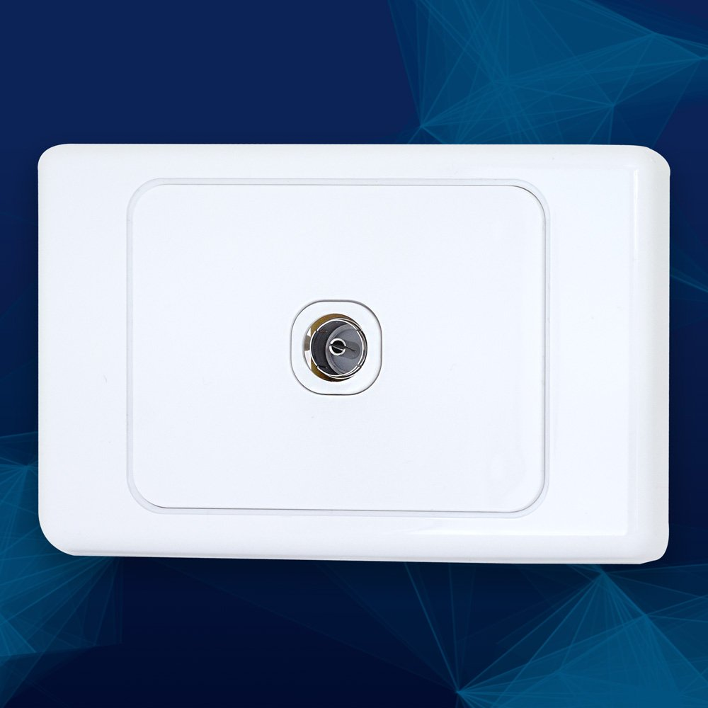 Wall Plate F Type to PAL