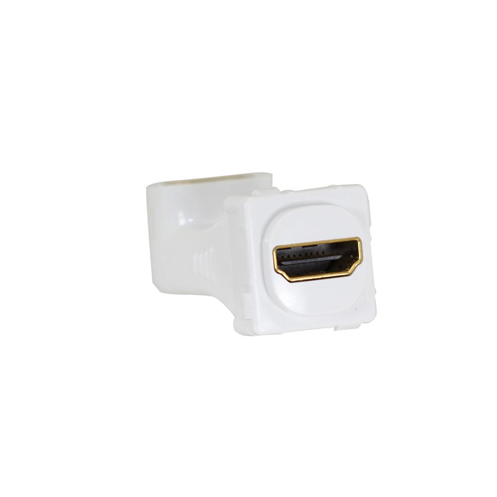 Wall Plate Mechanism Premium HDMI Right Angle
