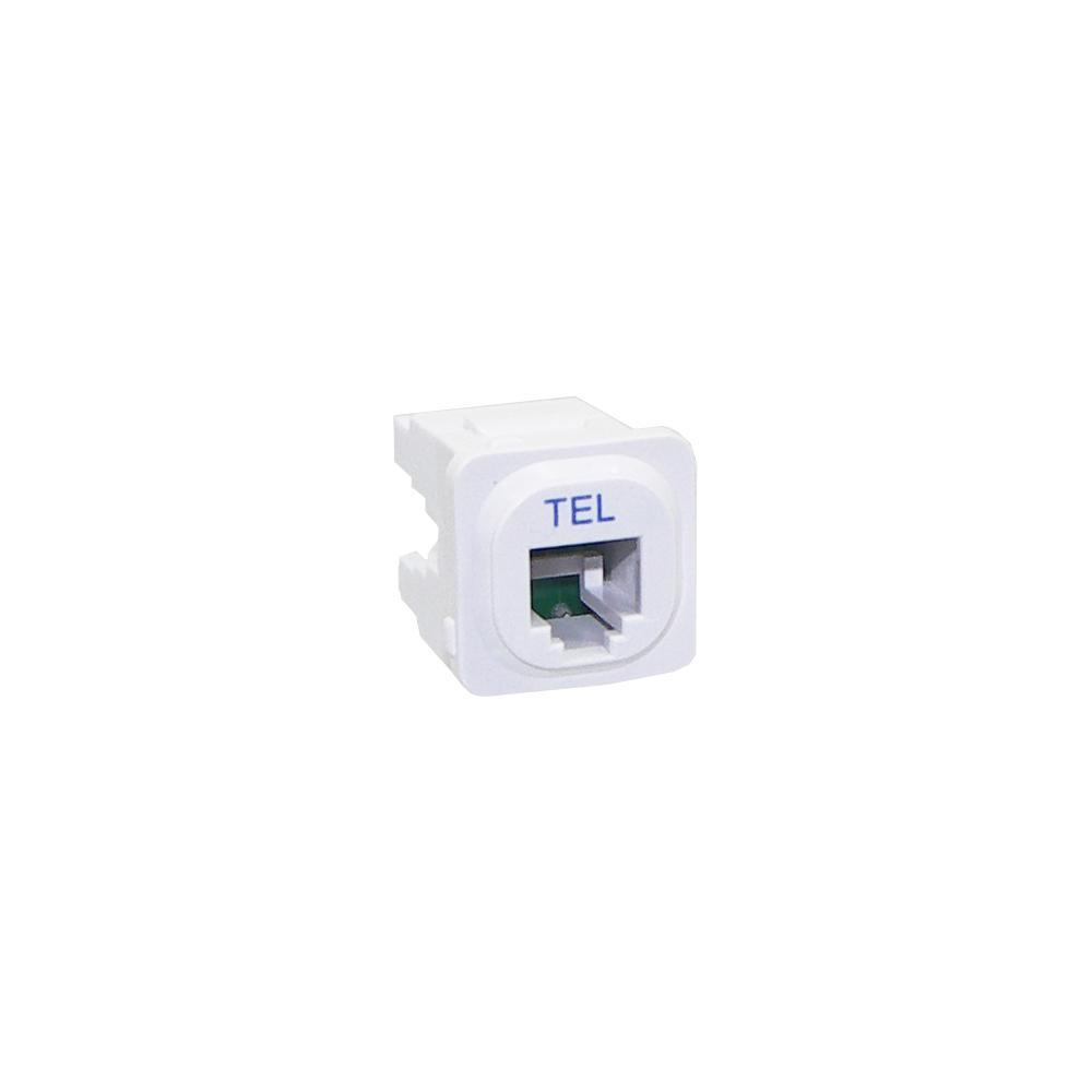 Wall Plate Mechanism Premium RJ11 White