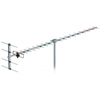 Antenna 20 Element Band 4 YAGI Channel 28-40 F Type 16dB Gain FRACARRO