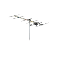 Antenna 6 Element VHF YAGI Band 3 Channel 6-12 F Type FRACARRO