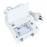 Distribution Amplifier 35dB gain, 1 Input VHF/UHF  LTE Filter