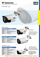 5MP Bullet Motorised IP Camera