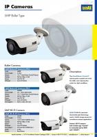 5MP Bullet IP Camera CCTV AERIAL INDUSTRIES.
