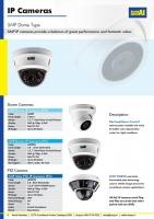 5MP Dome Motorised IP Camera CCTV AERIAL INDUSTRIES