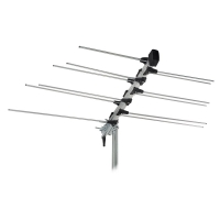 Folding Log Periodic Band 3 VHF Antenna - Easy Storage
