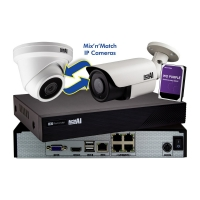CCTV IP Kit 4 Channel NVR x4 5MP Cameras 1TB HDD Aerial Industries